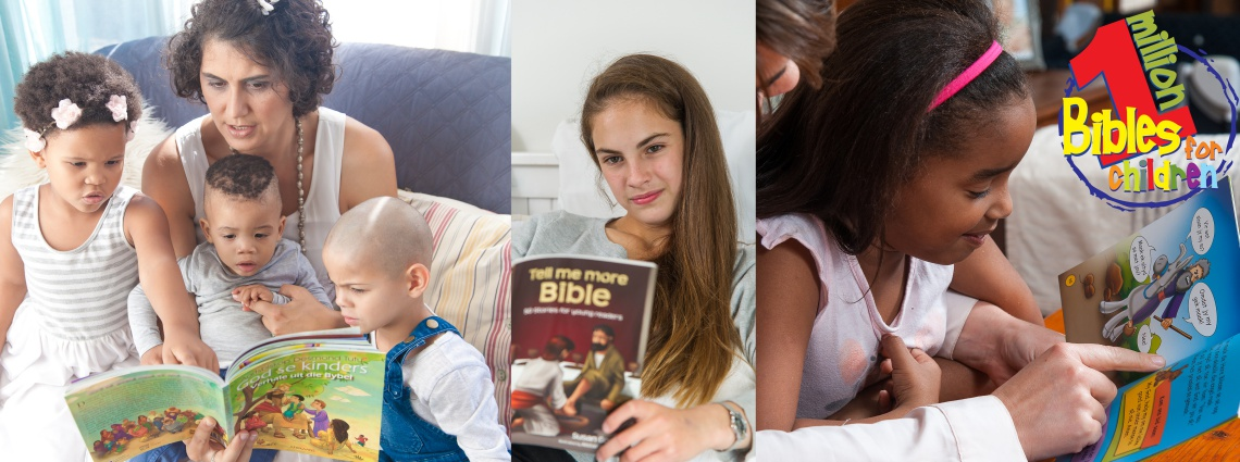Christian literature - children with cancer - one million bibles for one million children project