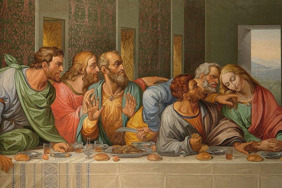 Judas se verraad en Jesus se liefde
